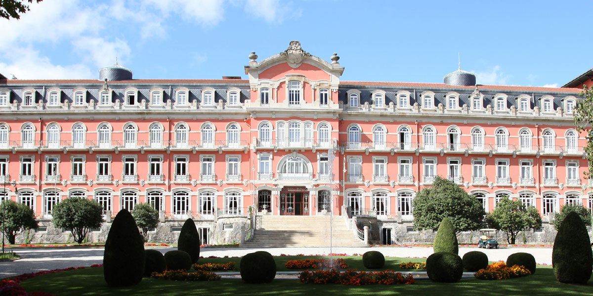 Vidago Palace, Douro Valley, Portugal